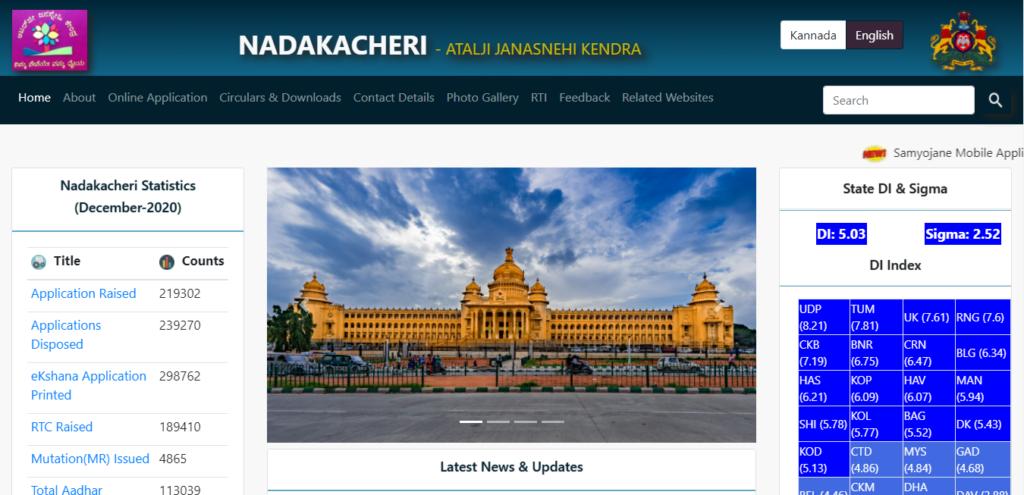 Nadakacheri Website